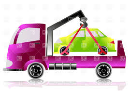 100 Tow Truck Vector Truck With Small Car Image Of Transportation Arkela