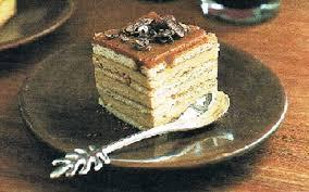 recette pavés au petit beurre et au café pas chère et facile