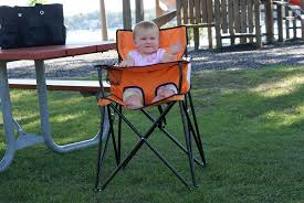 Space Saver High Chair Walmart by Amazon Com Ciao Baby Portable Highchair Orange Childrens