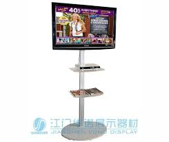 2018 Portable Lcd Led Tv Stand Exibition Product Trade Show 32 To 72 Plasma Or Television Single Column With Two Shelves From Chenxiaocui1214
