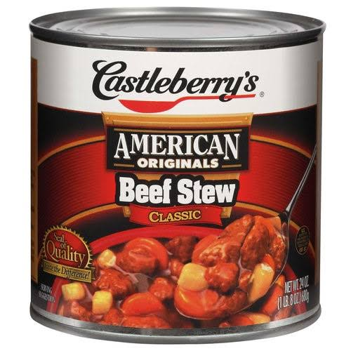 Castleberry's Chunky Classic Beef Stew - 24oz