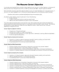 How To Write An Objective In Resume Examples Sample Career For Accounting Fresh Graduate