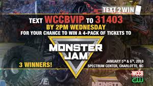 Text2Win MONSTER JAM Tickets! - WCCB Charlotte Monsterized 2016 The Tale Of The Season On 66inch Tires All Top 10 Best Events Happening Around Charlotte This Weekend Concord North Carolina Back To School Monster Truck Bash August Photos 2014 Jam Returns To Nampa February 2627 Discount Code Below Scout Trucks Invade Speedway Is Coming Nc Giveaway Mommys Block Party Coming You Could Go For Free Obsver Freestyle Pt1 Youtube A Childhood Dream Realized Behind Wheel Jam Tickets Charlotte Nc Print Whosale
