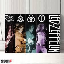 led zeppelin rock band metal tin sign metal decor wall decor house deco poster 20cmx30cm lep 14