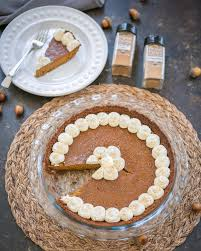 Pumpkin Pie With Gingersnap Crust Gluten Free by A New Pumpkin Pie Recipe For Thanksgiving Primal Palate Paleo