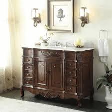 French Country Bathroom Vanity by Modern Bathroom Vanities Elongated Square Brown Smooth Minimalist