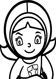 Word Girl Pbs Kids Coloring Page
