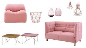 farbe rosa bei der raumgestaltung als wandfarbe richtig