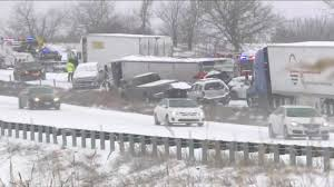 100 Two Men And A Truck Kansas City 47 Vehicles Crashed In A Pileup Due To A Snowstorm East Of