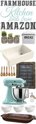 So You Want To Add Farmhouse Style Your Kitchen Do I Have Rounded Up A Whole List Of Items Help Just That The Mountain View CottageThe