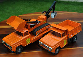 100 Cars And Trucks Llc 1958 Custom Tonka State Highway Set Custom Tin Toy LLC