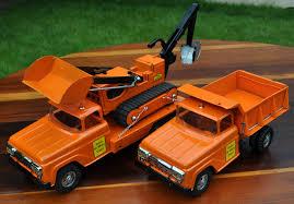 100 Custom Toy Trucks 1958 Tonka State Highway Set Tin