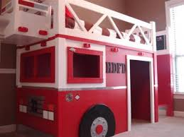 ana white fire truck loft bed diy projects