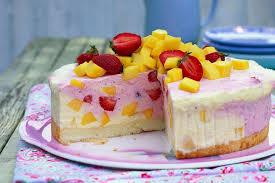 Hochzeitstorte Mit Erdbeeren Und Limetten Erdbeer Mango Torte