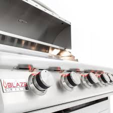 Gas Light Mantles Canada by Blaze Lte 40 Inch 5 Burner Built In Natural Gas Grill With Rear