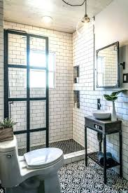tiles shower with subway tile design bathrooms with subway tile