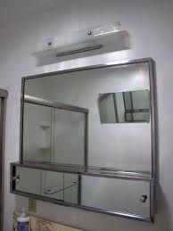 Brushed Nickel Medicine Cabinet With Mirror by Bathroom Cabinets Bathroom Mirror Wall Cabinets Recessed