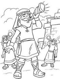The Walls Of Jericho Coloring Page