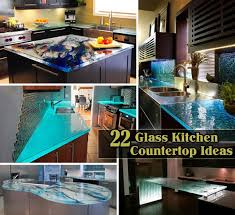 104 Glass Kitchen Counter Tops 22 Modern And Stylish Top Ideas Amazing Diy Interior Home Design