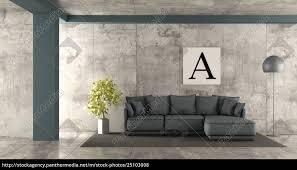 lizenzfreies foto 25103008 minimalistisches wohnzimmer mit