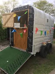 Classic Vintage Horse Trailer Conversion Catering Burger Van Bar Coffee