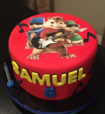 Alvin And The Chipmunks Cake Decorations by Alvin And The Chipmunks Birthday Cake Cake Design Pinterest