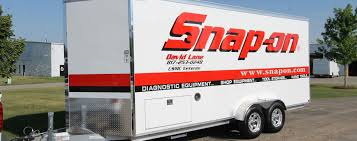 David Lane's 18' Snap-on Sales Trailer - LDV