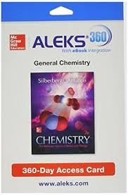 ALEKS 360 Access Card 2 Semester For Silberberg Dr Martin