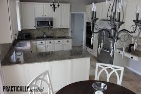 Restaining Oak Cabinets Forum by From To Great A Tale Of Painting Oak Cabinets