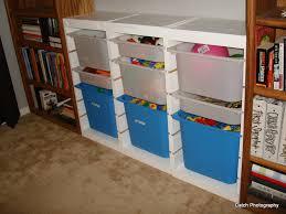 ana white ikea trofast toy bin storage hacked playroom project