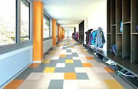 Colorful Vinyl Flooring Floor Tiles Multi Coloured