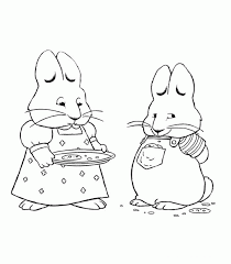 Max Ruby Coloring Pages 720