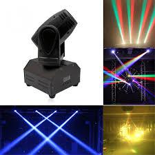 2x 540皸 rotating rgb led stage light bulbs disco bulb l