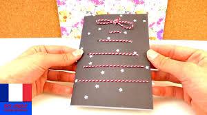 faire soi même une carte de noël diy carte de voeux fêtes de