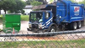 100 Garbage Truck Youtube Blue Dumping Blue Dumpster YouTube