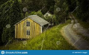 100 Houses In Norway Old Abandoned Stock Image Image Of House