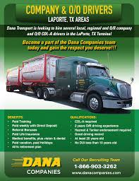 100 Truck Drivers For Hire Class A Tank Company Or Owner Operator Driver Now Hiring
