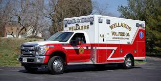 Willards Volunteer Fire Company / PL Custom Classic Type I Ambulance ...