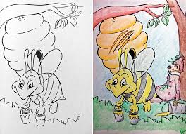 Funny Children Coloring Book Corruptions 31