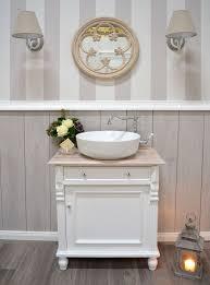 cécile landhaus waschtisch mit eichenplatte badmöbel