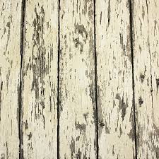 Weathered Rustic Barn Wood Grain Look Plank Vinyl Wallpaper Rolls
