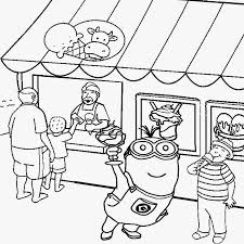 Coloring Pages Page Snowman For Preschool Dltk Dltks