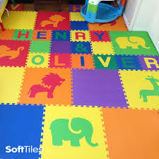 personalized baby play mats alphabet mats with safari animals