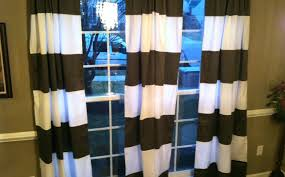 Gold And White Curtains by Black And White Striped Shower Curtain Gray Horizontal Stripe