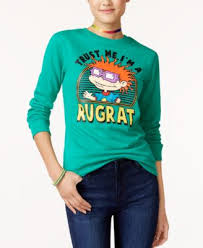Nickelodeon X Love Tribe Juniors Trust Me Im A Rugrat Sweatshirt