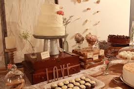 Sweet Table Decoration Vintage Wedding Party Idea
