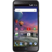Straight Talk ZTE MAX DUO 16GB Prepaid Smartphone Black Walmart