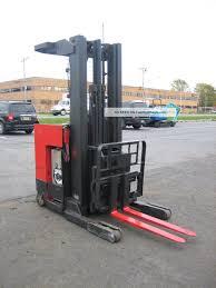 2006 Raymond Forklift Reach Truck 4000lb 211