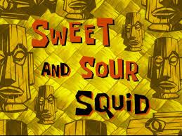 That Sinking Feeling Spongebob Transcript by Sweet And Sour Squid Transcript Encyclopedia Spongebobia
