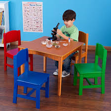 Square Wood Kids Table And Four Colored Chairs Of Lovely Kids Wood ... Kids Round Table Set Tyres2c Children39s White And Chairs Personalized Play Hayneedle Best Rated In Chair Sets Helpful Customer Reviews Springs Hottest Sales On Kidkraft Storage 2 Kidkraft Bench Fresh Star And Shop Avalon Ii Free Shipping Exciting Kitchen Card Gumtree Small Rattan Multiple Colors Pink Farmhouse Beautiful New Sturdy Table With Four Chairs Beyondborders 15 Benches For Child S Wooden